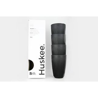 Picture of HuskeeCups 12oz Charcoal (pk 4)