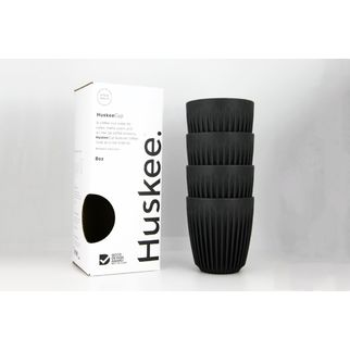 Picture of HuskeeCups 8oz Charcoal (pk 4)