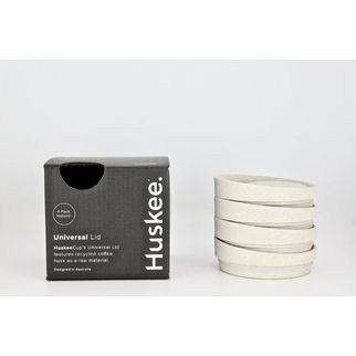 Picture of HuskeeCups Universal Lid Natural (pk 4)