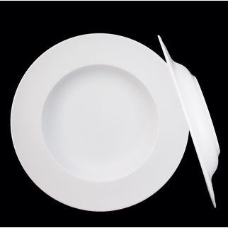 Picture of Ilona Supervitrified Flat Rim Deep Plate 300mm