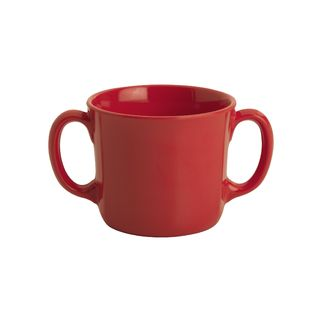 Picture of Jab Gelato Cup Red Double Handled 250ml