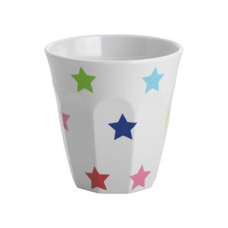 Picture of Jab Multicolour Stars on White Tumbler 300ml