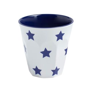 Picture of Jab Navy Blue Stars on White Espresso Cup 200ml