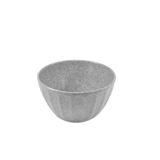 Picture of Jab Stone Grery Ripple Effect Round Deep Bowl 150 x 85mm