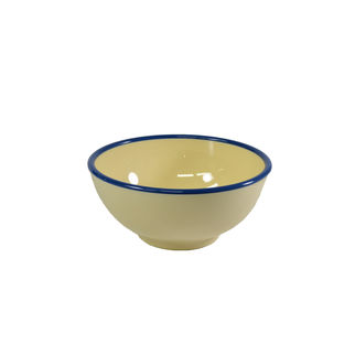 Picture of Jab Vintage Round Bowl Yellow/Blue 150mm