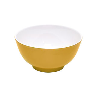 Picture of Jab Yellow/White Cereal Bowl 150mm