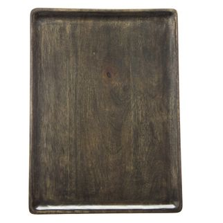 Picture of Mango Wood Serving Board Rect 350x255x15mm DARK