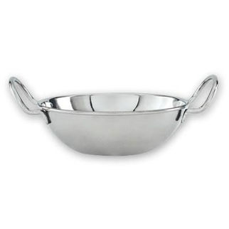 Picture of Kadai Bowl Mini Wok Stainless Steel 180mm