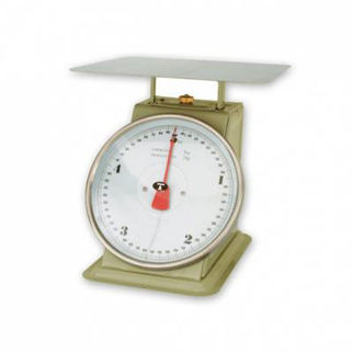 Picture of Kitchen Scale Grey Enamel Body up to 5kg with ingredient bowl