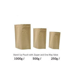 Picture of Kraft Brown Coffee Pouches 500G