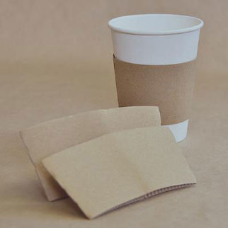 Picture of Kraft Cup Sleeve 12 And 16 Oz 1000