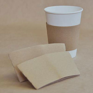 Picture of Kraft Cup Sleeve 8 Oz 1000