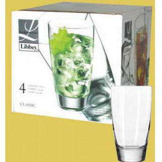 Picture of Libbey Glassic Cooler 532ml Set Of 4