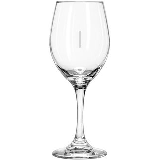 Picture of Libbey Perception Wine Glass 325ml with vertical pour line