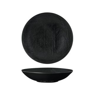 Picture of Luzerne Linen Black Round Share Bowl 1100ml 230mm