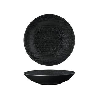 Picture of Luzerne Linen Black Round Share Bowl 700ml 200mm