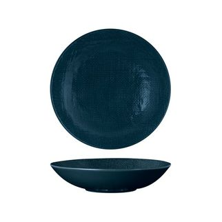 Picture of Luzerne Linen Navy Blue Round Share Bowl 1100ml 230mm