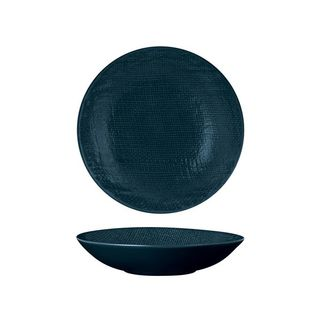 Picture of Luzerne Linen Navy Blue Round Share Bowl 700ml 200mm