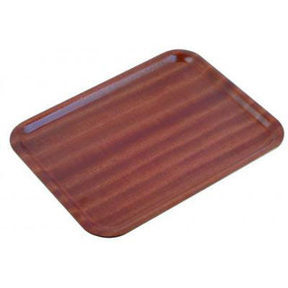 Picture of Mahogany Wooden Tray 270mm