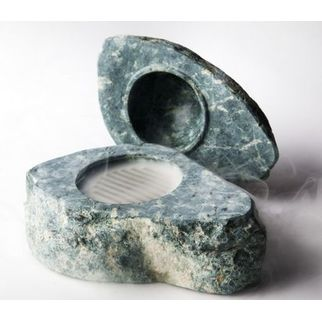Picture of Miniature BBQ Stone with Lid