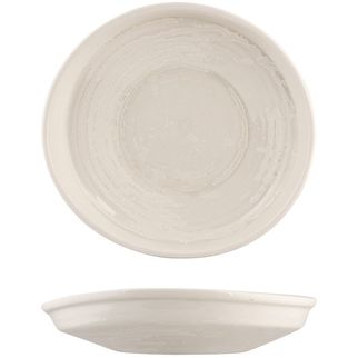Picture of Moda Porcelain Snow Organic Plate 250x235mm
