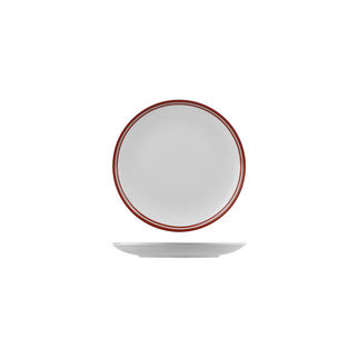 Picture of Nano Cru Coupe Plate with Double Printed Red Line 180mm