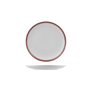 Picture of Nano Cru Coupe Plate with Double Printed Red Line 210mm