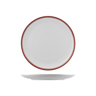 Picture of Nano Cru Coupe Plate with Double Printed Red Line 270mm
