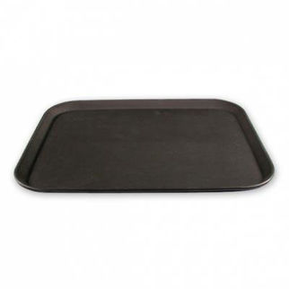 Picture of Non Slip Rectangle Tray  black 500mm