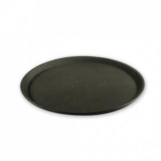 Picture of Non Slip Round Tray  black 350mm