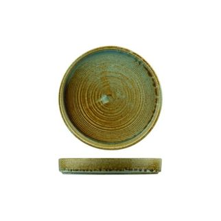 Picture of Nourish Stackable Plate Fired Earth 180 x 25mm