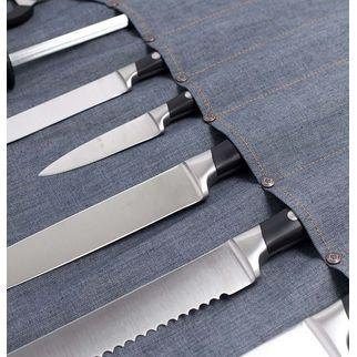 Picture of Oliver Denim Knife Wrap 7 pocket