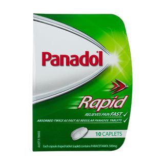 Picture of Panadol Rapid Handipak 10 Tablets