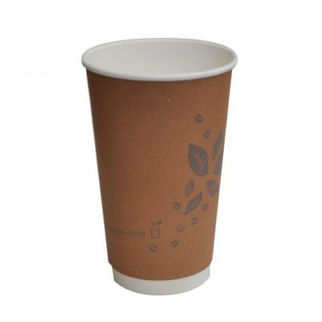 Picture of Pla Coated Grow Cup Double Wall 8oz Sleeve 25