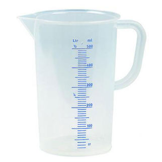 Picture of Polypropylene Measuring Jug Blue Scale 1000ml