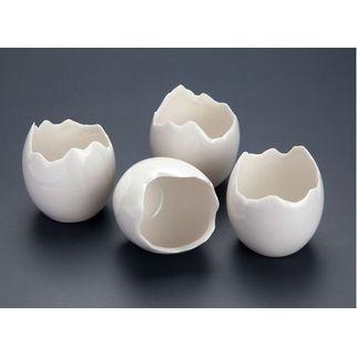 Picture of Porcelain Mini Broken Eggs (pk 10)