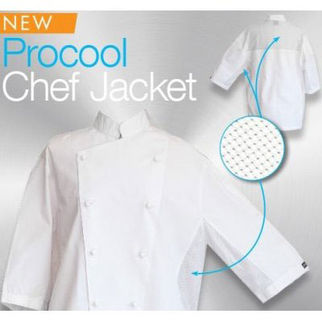Picture of Procool Chef Jacket Short Sleeve S