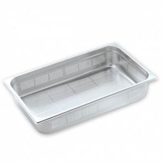 Picture of Pujadas Gastronorm Pan 1/1 Size Perforated 150mm