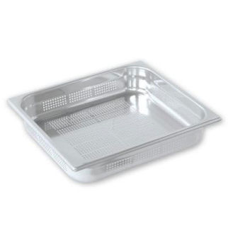 Picture of Pujadas Gastronorm Pan 2 3 Size Perforated 150mm