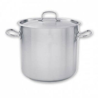 Picture of Pujadas Stockpot 18 10 With Cover 10000ml