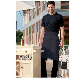 Picture of Pv Half Apron With Pocket Bottle Green