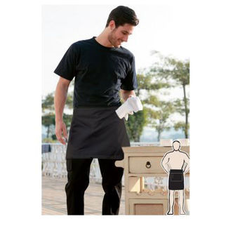 Picture of Pv Quarter Apron With Pocket Bottle Green