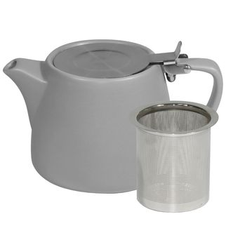 Picture of Brew Silver Ice Matt Teapot 500ml with SS Infuser and Lid