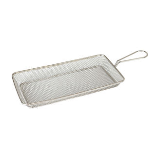 Picture of Moda Brooklyn Stainless Steel Service Basket 190 x 100 x 35mm