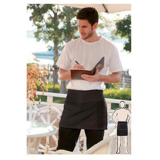 Picture of Quarter Apron With Pocket Black