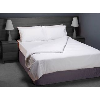 Picture of Quilt Cover Poly-Cotton (King Single) Colour WHITE
