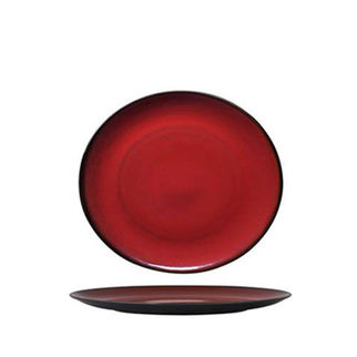 Picture of Luzerne Round Coupe Plate 165mm Crimson