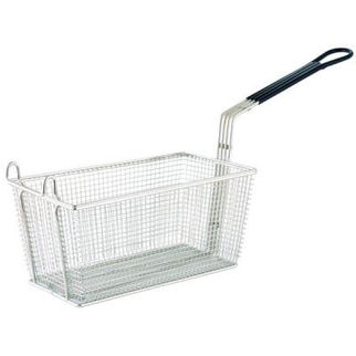 Picture of Rectangular Chrome Plated Frying Basket 375x138mm