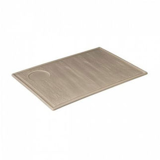 Picture of Rectangular Plate With Well Beige 330mm