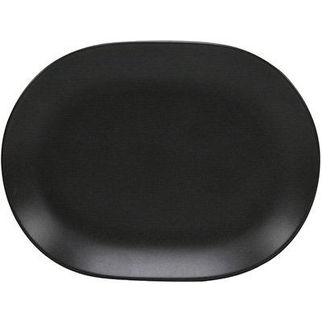 Picture of Rene Ozorio Black Oval Platter 157mm